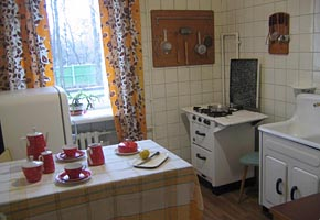 Korolev's Museum (kitchen), 2007-01, (C) Natalia Remizova